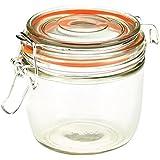 Genware nev-tj-xl tarro de cristal, 350ml, 9,5cm x 8,1cm)
