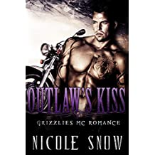 Outlaw's Kiss: Grizzlies MC Romance (Outlaw Love) (English Edition)