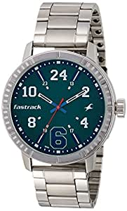 Fastrack Varsity Analog Silver Dial Men's Watch - 3178SM01