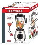 Techwood TBLI-360 Blender Inox 1,5 L