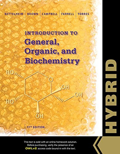 Introduction to General, Organic and Biochemistry, Hybrid Edition (with OWLv2 with MindTap Reader, 4 terms (24 months) Printed Access Card) by Frederick A. Bettelheim (2015-06-25)