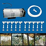#8: Misting System DIY Kit 10 Nozzle + Water Mist Pump