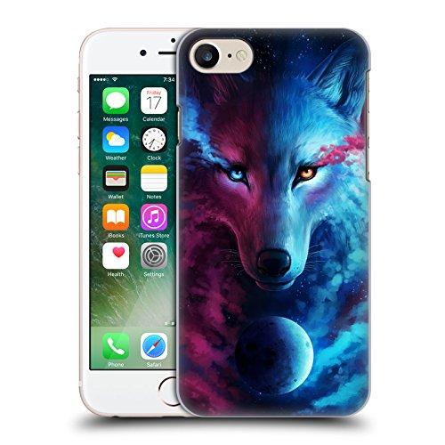 """Offizielle Jonas """"jojoesart"""" Jödicke Jahreszeiten Wilde Tiere Ruckseite Hülle für Apple iPhone 6 / 6s Wolf Galaxie"""