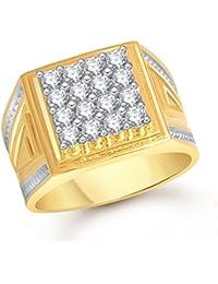 Meenaz Jewellery Golden Ring for Men (FR457 (20)
