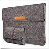 15 Zoll Filz Sleeve Hülle Notebook Laptop Tasche für 15