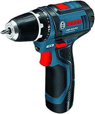 Bosch  0615990G6L - Taladro, baterías 10,8 V, 1 x 2Ah, 1 x 4Ah