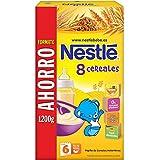Nestlé Papillas 8 Cereales A Partir De 6 Meses - 1200 g