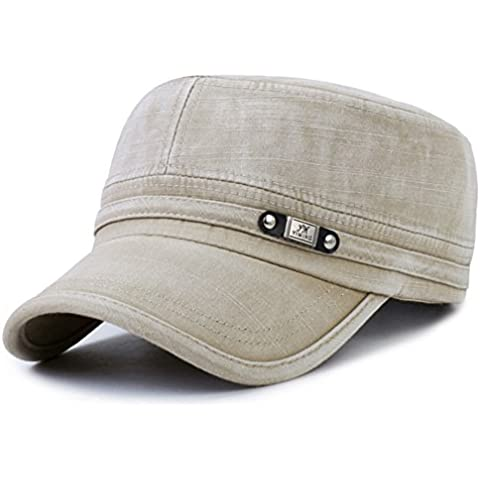 Versión coreana de la gorra plana/Sombreros de deporte de ocio de moda al aire libre/Gorra militar/ primavera y otoño de sombrero de vaquero/Casquillo de los