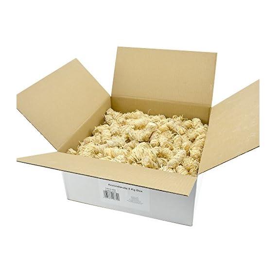 Ko Anzndwolle 5kg Premium Holzwolle Anznder Kaminanznder Holzanznder Grillanznder Brennholzanznder Holzkohle Briketts Kaminholz