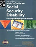 Nolo's Guide to Social Security Disability: Getting & Keeping Your Benefits 2nd edition by Morton, David A. (2003) Paperback