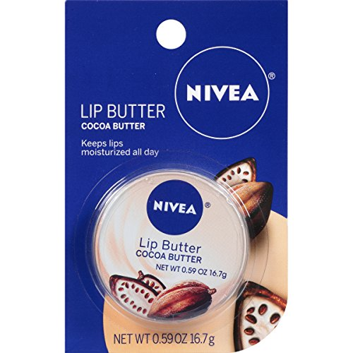 NIVEA Cocoa Butter Lip Butter .59 Ounce Carded Tin by Nivea -