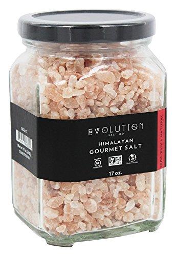 Evolution Salt Company - sale rosa grosso dell'Himalaya Gourmet - 17 oz.
