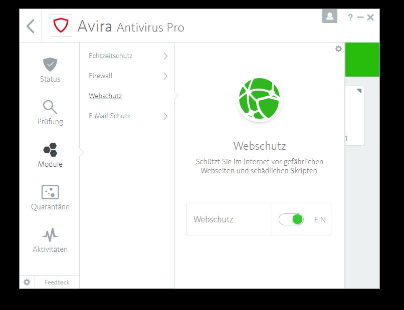 Avira Antivirus Plus Software Edition 2018 / Sicheres Virenschutzprogramm (Jahres-Abonnement) für 2 Geräte / Download für Windows (7, 8, 8.1, 10) und Mac [Online Code] - 8