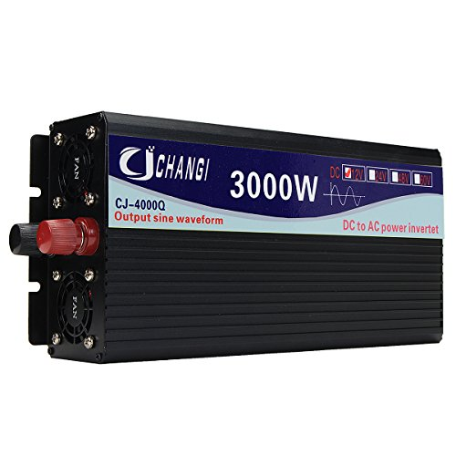 Tutoy Intelligent Screen Pure Sinus Power Inverter 12V/24V Bis 220V 3000W/4000W/5000W/6000W Converter24V 3000W