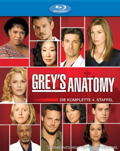 Grey's Anatomy - Season 4 [Blu-ray]