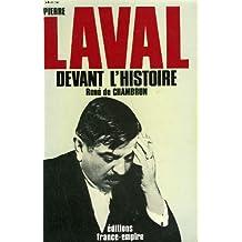 Pierre Laval devant l'histoire
