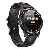 TYGJ Sportuhr Fitness Tracker, Pulsmesser, Schrittzähler Schlaf Tracker mit Blutdruck-Fernkamera-Stoppuhren für Sport, Fitness Tracker unterstützt Laufen, Wandern, Klettern