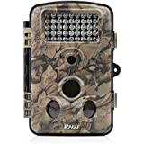 RAGU Trail Camera 12MP 1080P HD Infrared Night Vision, Game Camera with Time Lapse/ 65ft 120°/ 42pcs IR LEDs/ 2.4