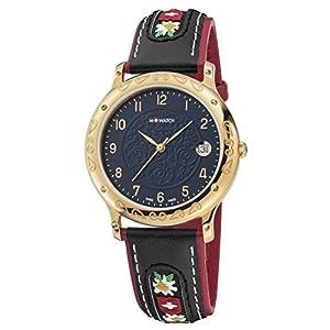 M-Watch Tradition WRF.32240.LB Reloj de pulsera Cuarzo Mujer correa de Cuero Negro de M-WATCH