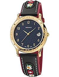 M-WATCH Tradition Analog Black Dial Unisex's Watch-WRF.32240.LB