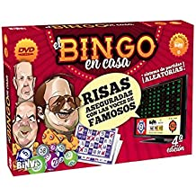 Bingo BINVI 4ªEdición, 320 Cartones+6 Rotula