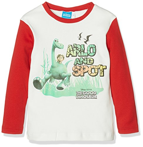 walt-disney-t-shirt-maglietta-bambino-462-rosso-4-anni