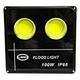 #7: Ultra Slim 100W LED Flood Light FOCUS PURE COOL WHITE AC outdoor Waterproof IP65