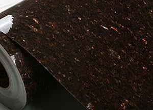 Papier auto-adhésif effet marbre intérieur 751-1 ce Contact écran: 61 cm (2 m X 200 cm (2 m)  Peel Stick Granite &de Papier brillant Film Bulle intérieur Fabriqué en Corée du Sud (non Chine)-L'expédition Par Pantos Express (environ 10 ~20 jours ouvrés)