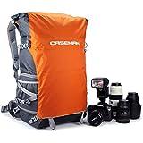 'Caseman aob5Orange étanche sac à dos pour ordinateur portable pour appareil photo reflex numérique Sony Canon Nikon Pentax