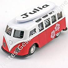 Modell Volkswagen Surf Bus mit Name