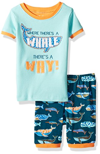 Hatley Boy's Short Sleeve Appliqué Pajama Pyjama Sets