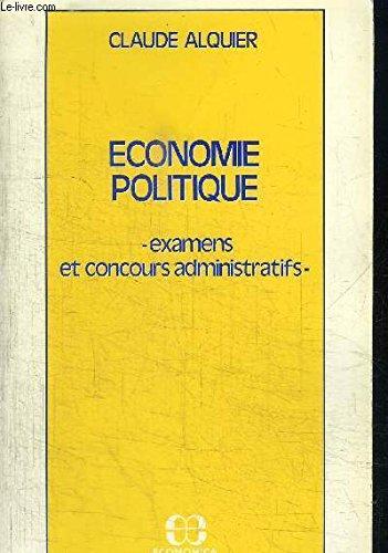 Économie politique : Préparation aux concours administratifs