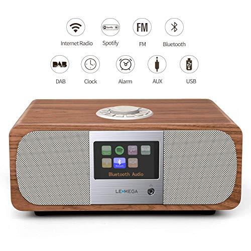 LEMEGA M3+ Smart Music System (Estéreo 2.1) con Wi-Fi Radio por Inter