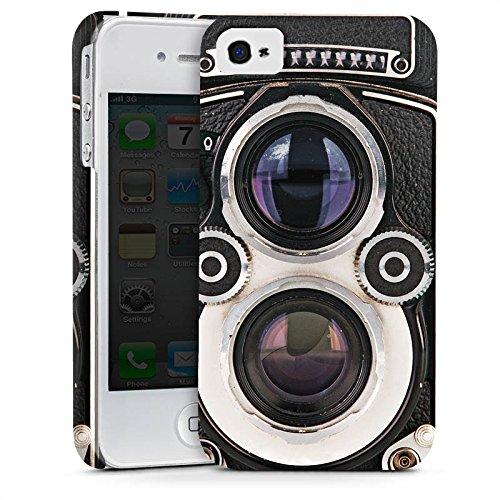 Apple iPhone X Silikon Hülle Case Schutzhülle Kamera Fotografie Retro Premium Case glänzend