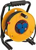 Brennenstuhl 40m H07RN-F 3G1,5 3AC outlet(s) 40m Multicolor base múltiple - Bases múltiples (40 m, 3 salidas AC, IP44, Multicolor, Negro, 1 pieza(s))