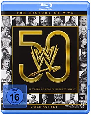The History of WWE - 50 Years of Sports Entertainment [Blu-ray]