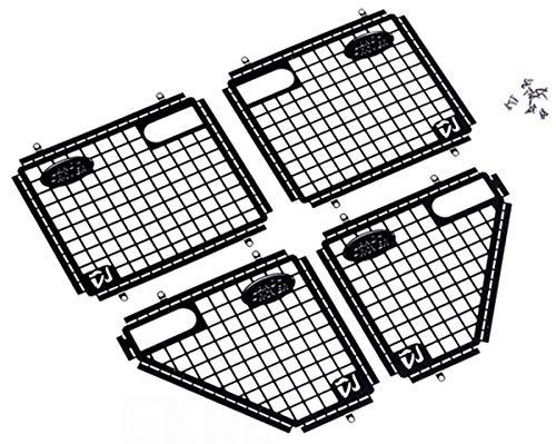 ARUNDEL SERVICES EU 4 x red de protección de puertas de Metal para Traxxas TRX-4 Traxxas TRX-4 trx4 1:10 RC Rock Crawler accesorios - Rc 10 4x4 Rock 1 Crawler