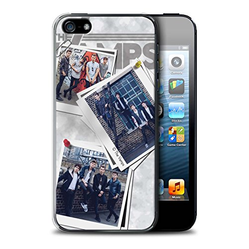 Offiziell The Vamps Hülle / Case für Apple iPhone 5/5S / Pack 5Pcs Muster / The Vamps Doodle Buch Kollektion Collage
