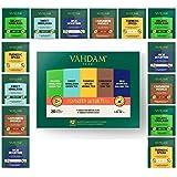 Vahdam Detox Tea Assortment | 5 Teas, 4 Pyramid Tea Bags Each | Organic Himalayan Green Tea, Sweet Himalayan Green Tea, Turmeric Spice, Cardamom Spiced Chai & High Mountain Oolong Tea | 20 Tea Bags Bag, 40 g