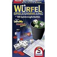 Schmidt-Spiele-49163-Wrfel-Spielesammlung Schmidt Spiele 49163 – Würfel-Spielesammlung -