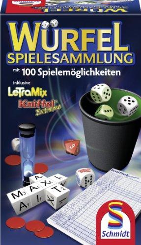 Schmidt Spiele 49163 - Würfel-Spielesammlung