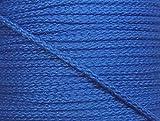 5 m Baumwollkordel 5 mm blau
