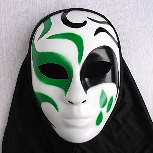 Damjic Die Merkmale Der Hip-Hop Kopf Maske Terror Halloween Mask Dekorative Hand-Painted Requisiten (Goonies Maske Die Sloth)