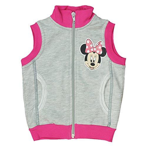 Einfache Kostüm Super College - Disney Baby Weste Minnie Mouse Weste Pulli Pollunder in Gr. 74 80 86 92 98 104 110 116 Baumwolle warm und süß für 6-12 12-18 18-24 Monate, 2 3 4 5 Jahre Farbe Modell 2, Größe 80