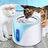 PEDOMUS 2L Katzenbrunnen Trinkbrunnen für Katze mit Filter Automatisch Katzen Trinkbrunnen Wasserbrunnen Haustier Hunde Wasserspender Katzentrinkbrunnen Leise UV-Entkeimungslampe YW-002 - 8