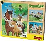 HABA 302690 - Puzzle Pferde