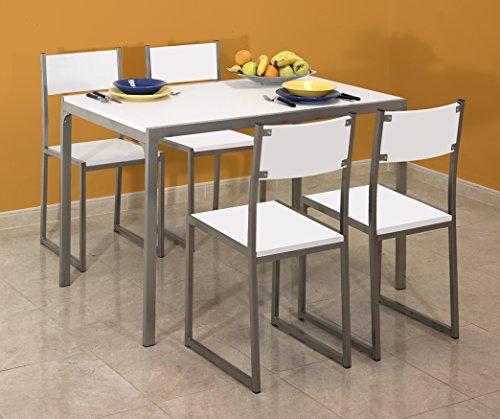 mesa-y-cuatro-sillas-de-cocina-fijas-en-color-blanco-con-estructura-metalica-de-120x70-cm