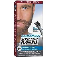 Just For Men Brush-In Color Gel Mustache & Beard Medium Brown M-35