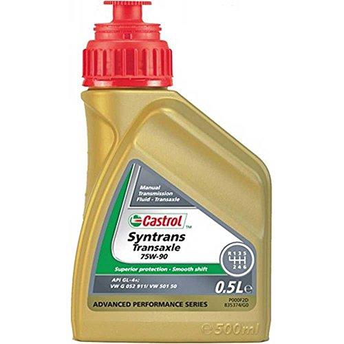 Castrol olio di trasmissione SYNTRANS Trans axle 75W -90/API GL-4/bottiglia + 0, 5L per moto