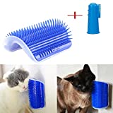 Meetlight Cat Auto-toiletteur, Chat Peigne Coin Massage épilation Brosse Auto-toilettage & Massaging Jouet cataire...